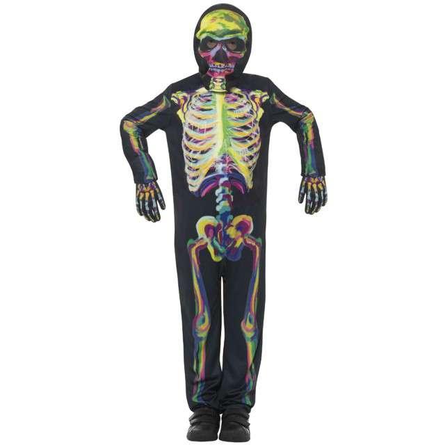 Strój dla dzieci Kolorowy świecący szkielet Smiffys rozm. S