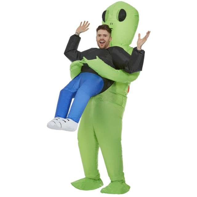 _xx_Inflatable Alien Abduction Costume Green