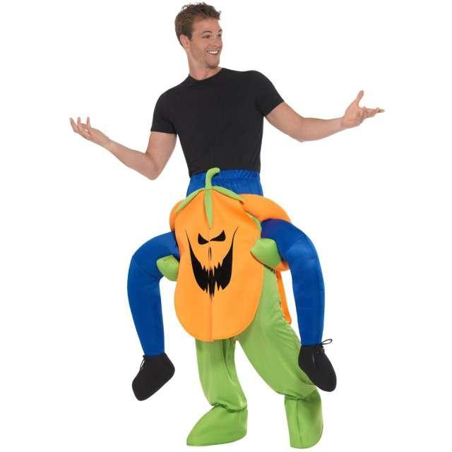 Strój dla dorosłych Na barana - Halloweenowa Dynia Smiffys