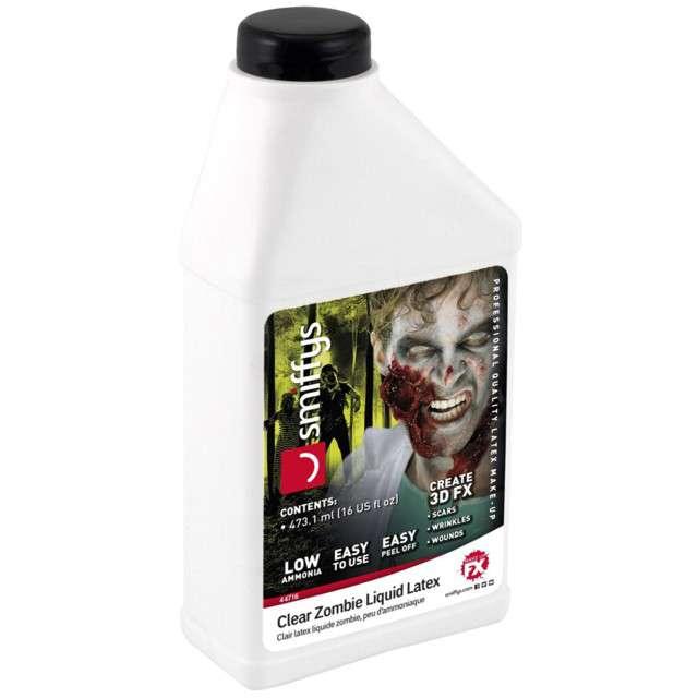 "Make-up party ""Płynny Latex"", transparentny, Smiffys, 473 ml"