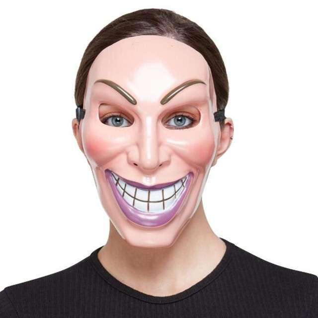 Maska Smiler - Kobieta Smiffys