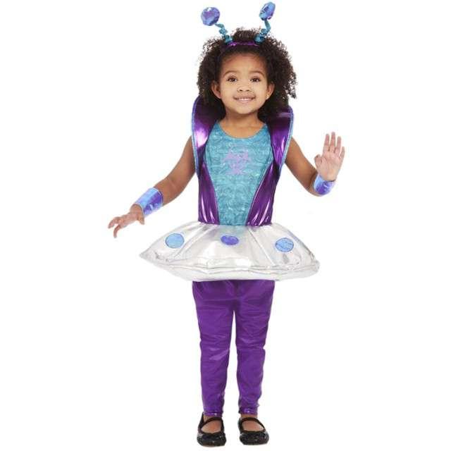Strój dla dzieci Mała Kosmitka Smiffys rozm. 1-2 lata
