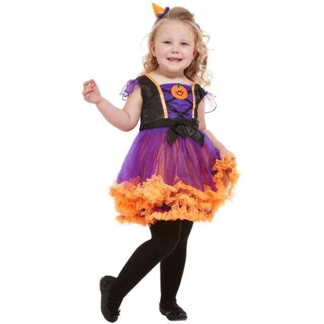 _xx_Toddler Pumpkin Witch Costume Orange