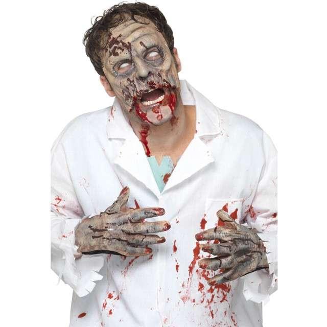 """Zestaw """"Zombie - Maska i rękawiczki"""", Smiffys"""