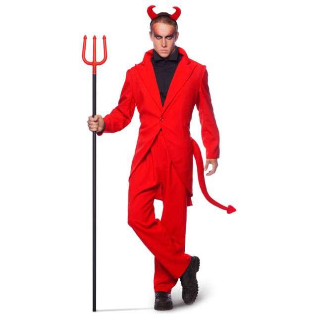"""Strój dla dorosłych """"Diabeł Mefistofeles"""", czerwony, Folat, rozm. XLXXL"""