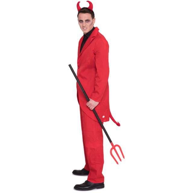 Strój dla dorosłych Diabeł Mefistofeles czerwony Folat rozm. XLXXL