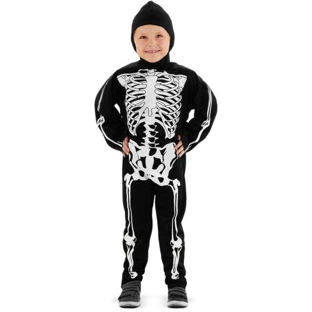 Strój dla dzieci Szkieletor czarno-biały Folat rozm. 6-8 lat