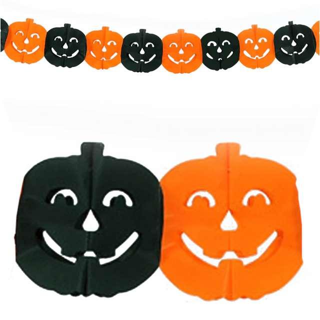"Baner ""Halloweenowe Dynie"", PartyPal, 300 cm"