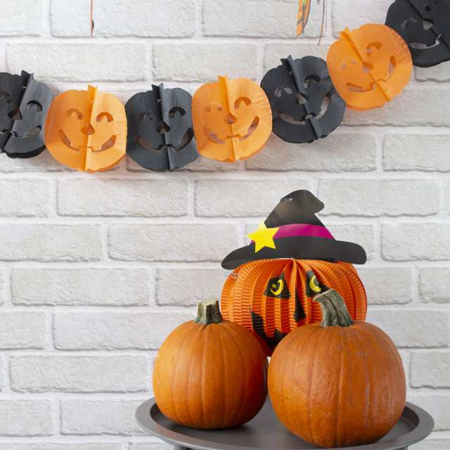 Baner Halloweenowe Dynie PartyPal 300 cm