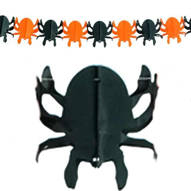 "Baner ""Halloweenowe Pająki"", PartyPal, 300 cm"