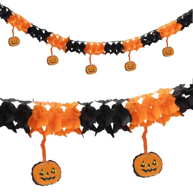 """Girlanda """"Halloweenowe Dynie"""", PartyPal, 300 cm"""