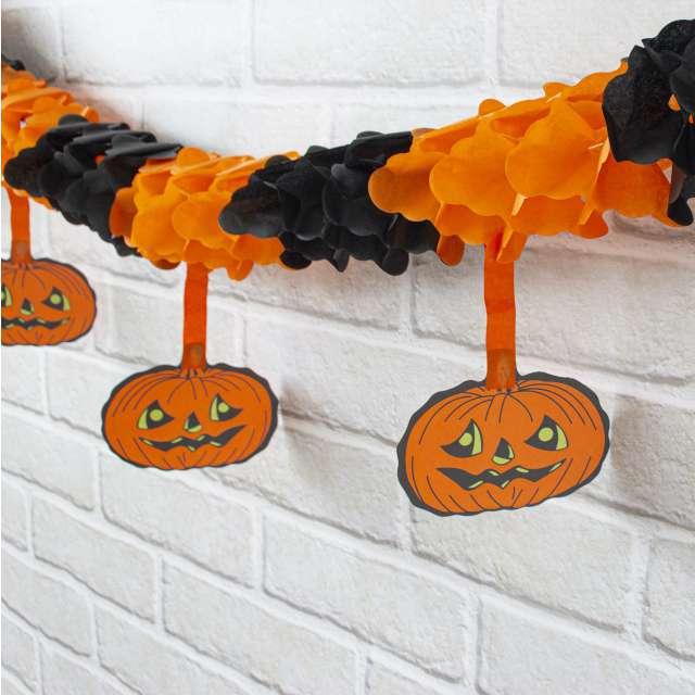 Girlanda Halloweenowe Dynie PartyPal 300 cm
