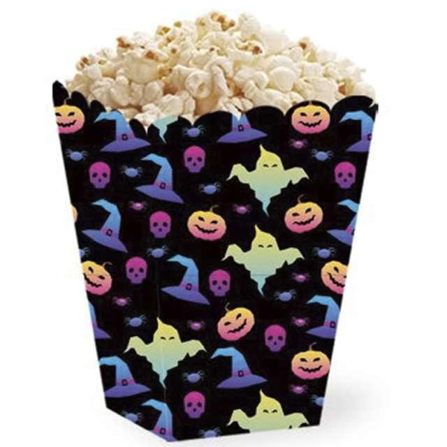 """Pudełka na popcorn """"Halloweenowe wzory"""", PartyPal, 5 szt"""