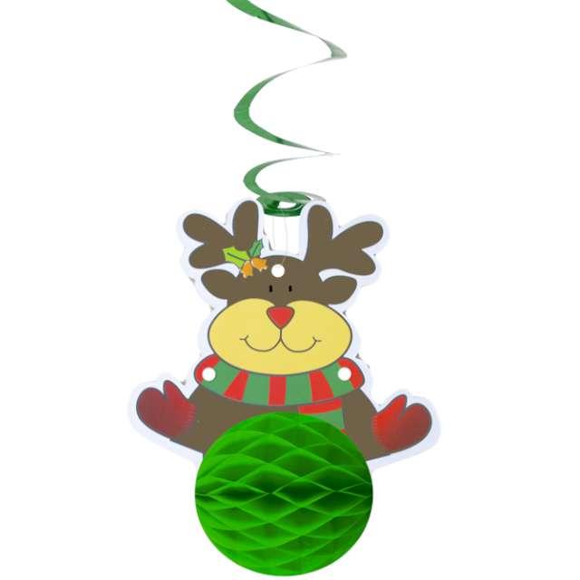 "Świderki ""Honeycomb - Renifer"", PartyPal, 19 cm"