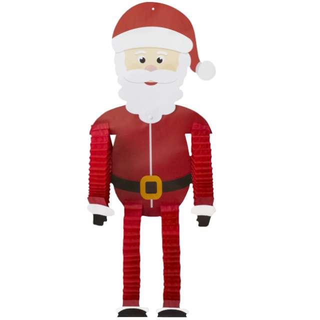 """Dekoracja wisząca """"Święty Mikołaj rozciągliwy"""", PartyPal, 121 cm"""