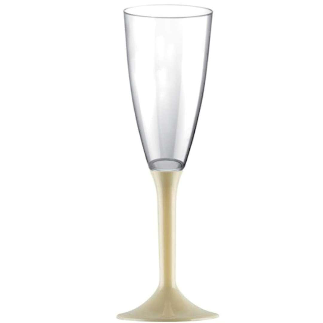Kieliszki jednorazowe Szampan Long szampańskie GoldPlast 120 ml 10szt
