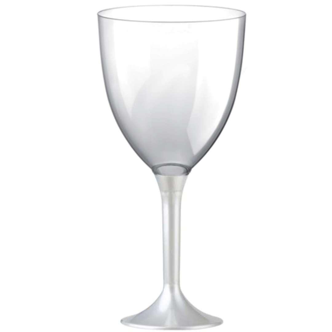 """Kieliszki jednorazowe """"Wino XL"""", perłowe, GoldPlast, 300 ml, 10 szt"""
