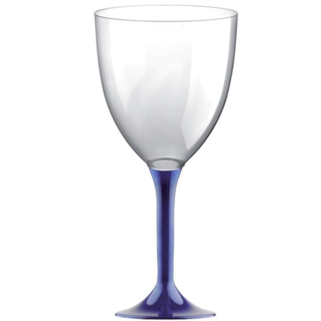 Kieliszki jednorazowe Wino XL granatowe GoldPlast 300 ml 10szt