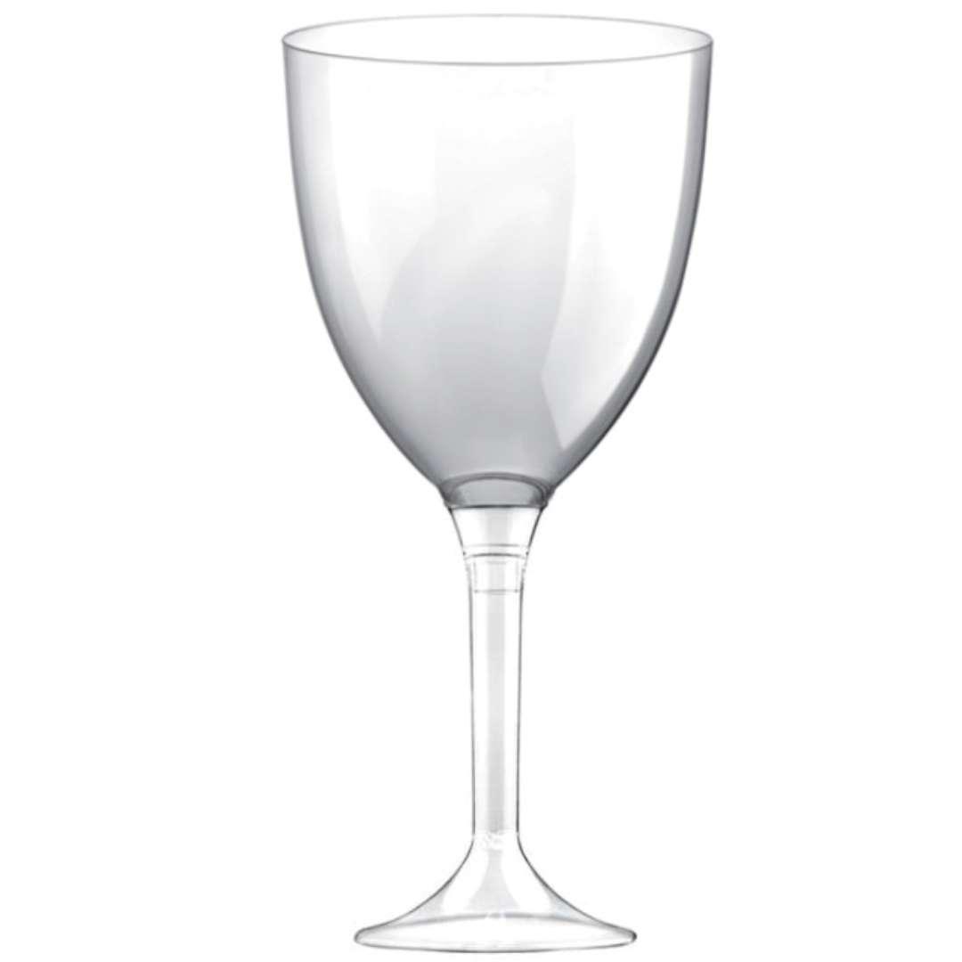 Kieliszki jednorazowe Wino XL transparentne GoldPlast 300 ml 10szt