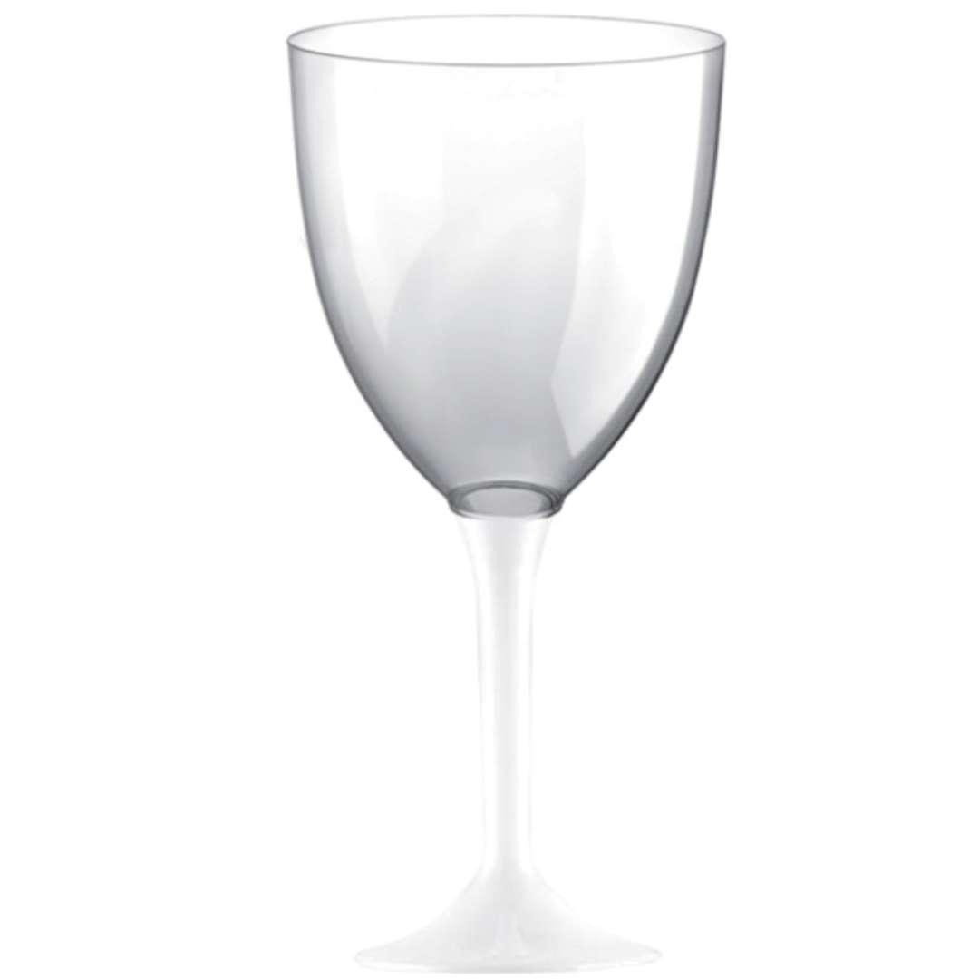 Kieliszki jednorazowe Wino XL białe GoldPlast 300 ml 10szt