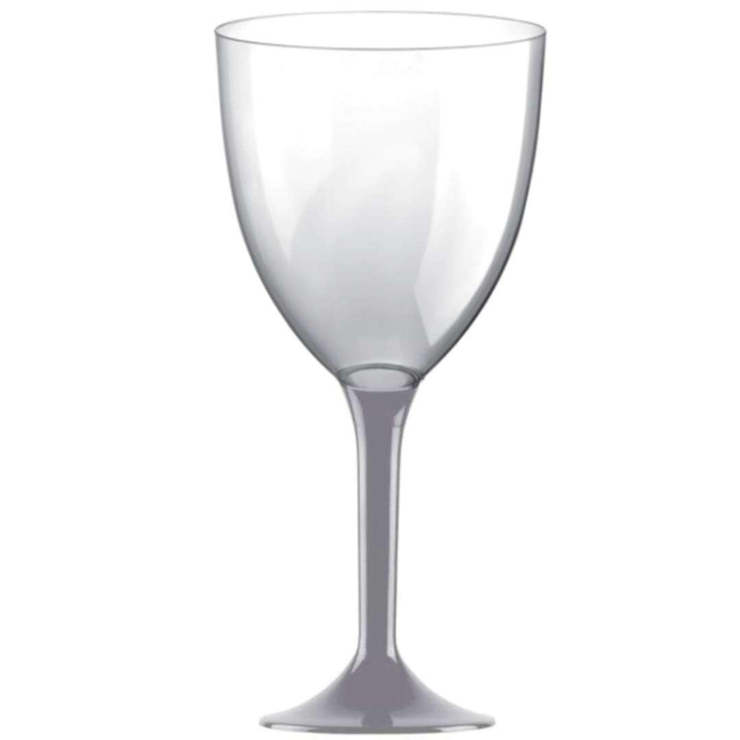 Kieliszki jednorazowe Wino XL szare GoldPlast 300 ml 10szt
