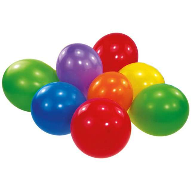 _xx_Latex Balloons Assorted 18cm