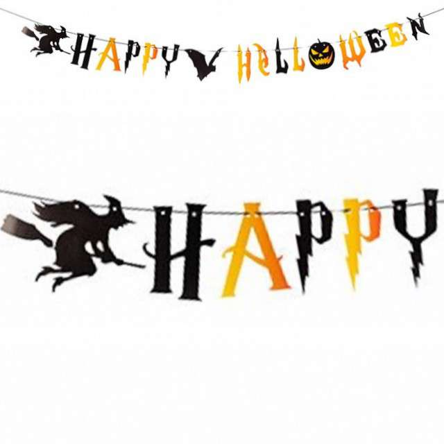 "Girlanda ""Happy Halloween"", Carnival Toys, 250 cm"