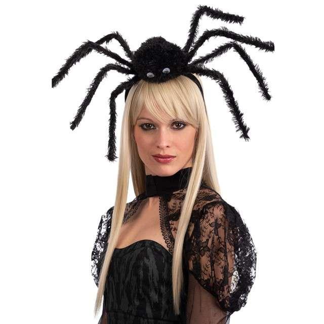 Opaska party Ogromny pająk czarna Carnival Toys