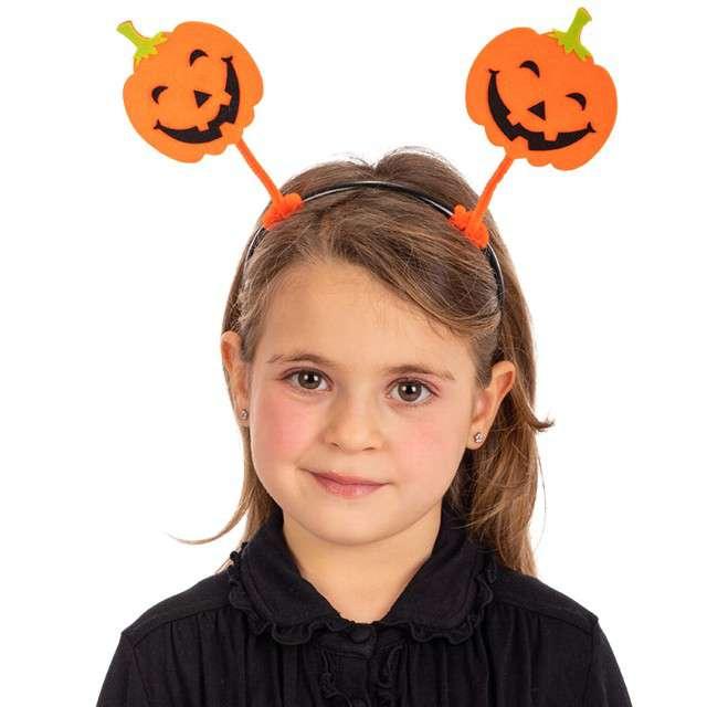 """Opaska party """"Halloweenowe Dynie"""", pomarańczowa, Carnival Toys"""