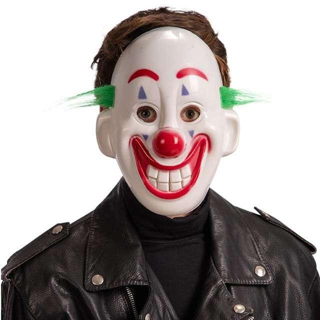 """Maska """"Klaun Joker"""", plastikowa, Carnival Toys"""