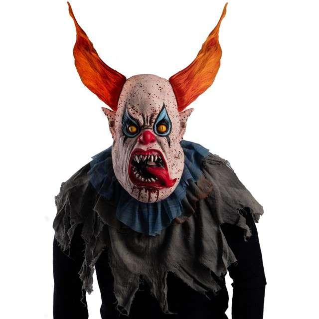 Maska Przerażający Klaun lateksowa Carnival Toys