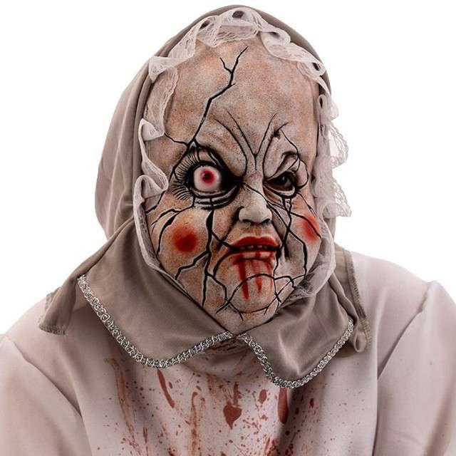 Maska Bobas z horroru lateksowa Carnival Toys
