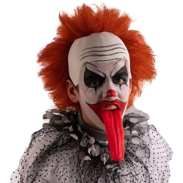 Długi Język upiora czerwony Carnival Toys 19 cm