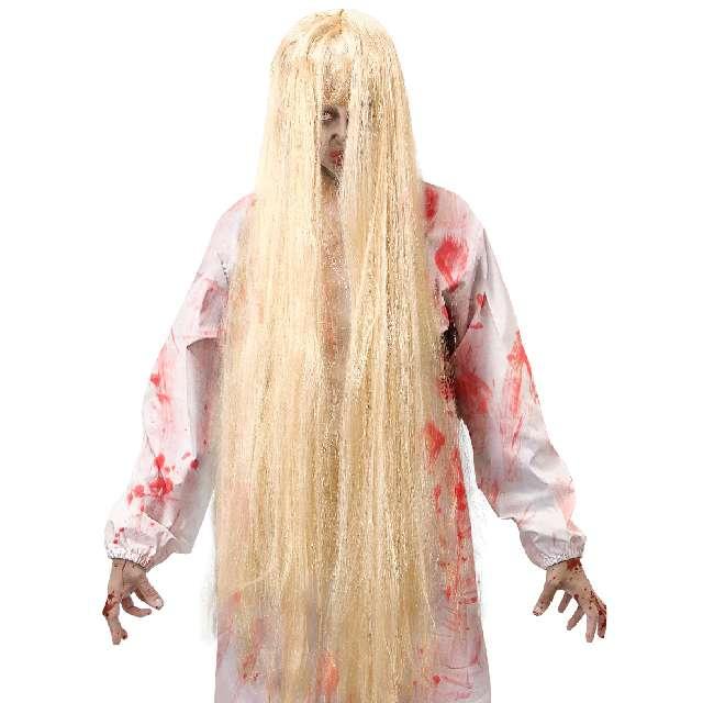 Peruka Dziewczynka z horroru blond Widmann