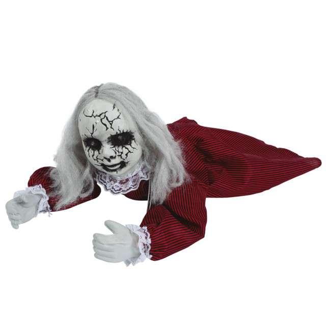 """Dekoracja """"Zombie pełzająca lalka"""",  Guirca"""