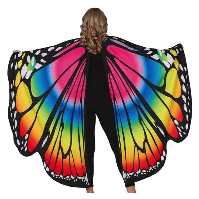 """Strój dla dzieci """"Barwny Motyl"""", Guirca 160x130 cm"""