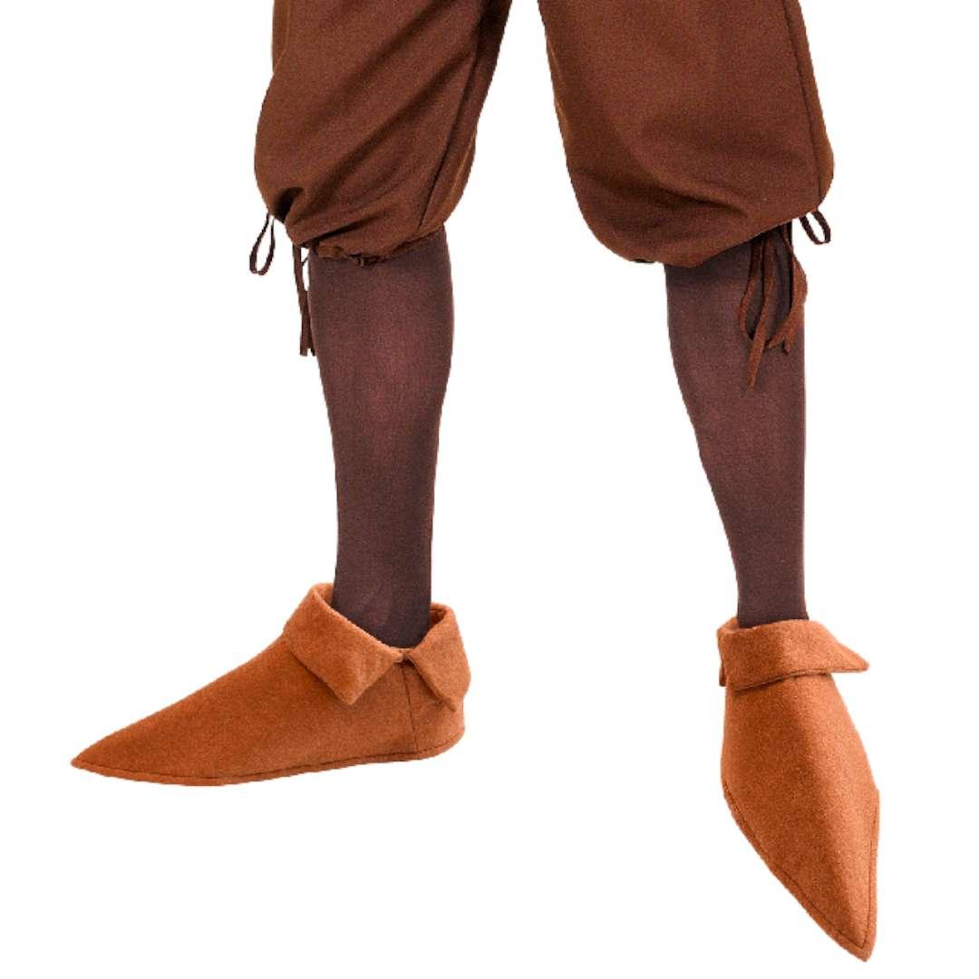 Nakładki na buty Średniowieczne trzewiki brązowe Widmann