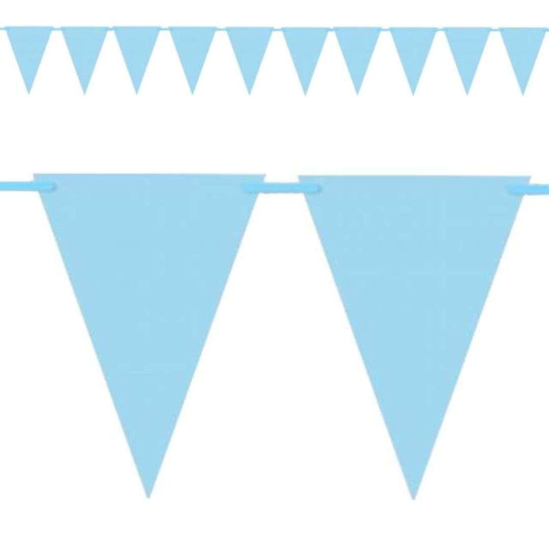 Baner flagi Classic niebieski DekoracjePolska 160 cm