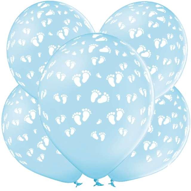 _xx_B-Balloons Balon Blue z nadr. Stopy dziecka 5