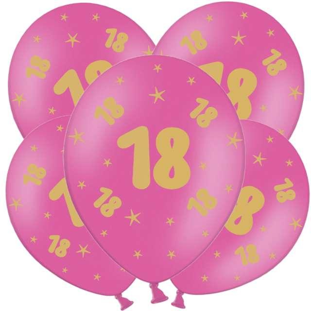 _xx_B-Balloons Balon fuksja z nadr. 18 złoty (5pc