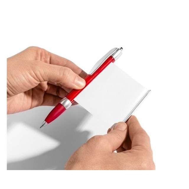 Długopis ze ściągą Enigma czerwony GadgetMaster
