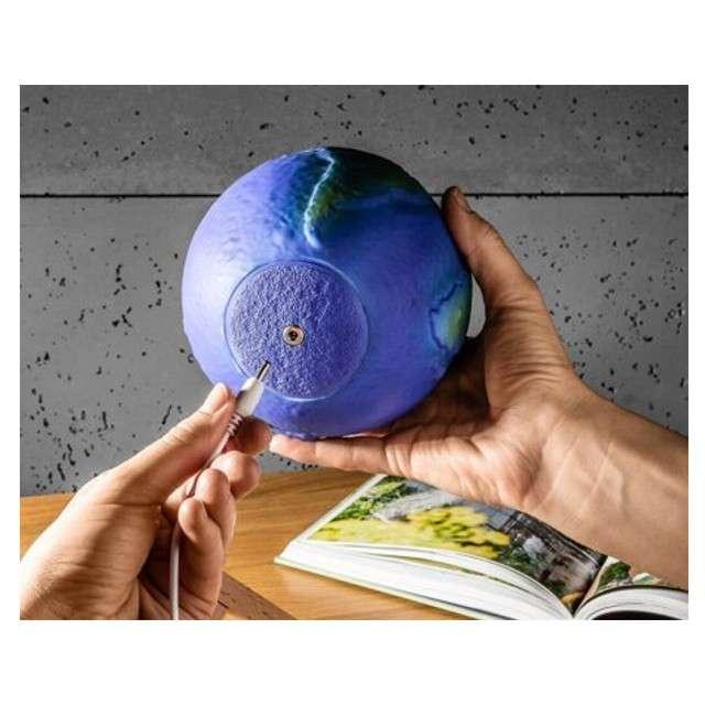 Lampka 3D kula ziemska 16kol. GadgetMaster