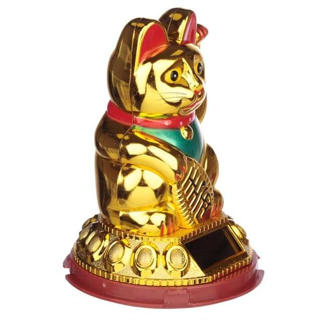 Dekoracja Kot szczęścia Puckator 11 cm