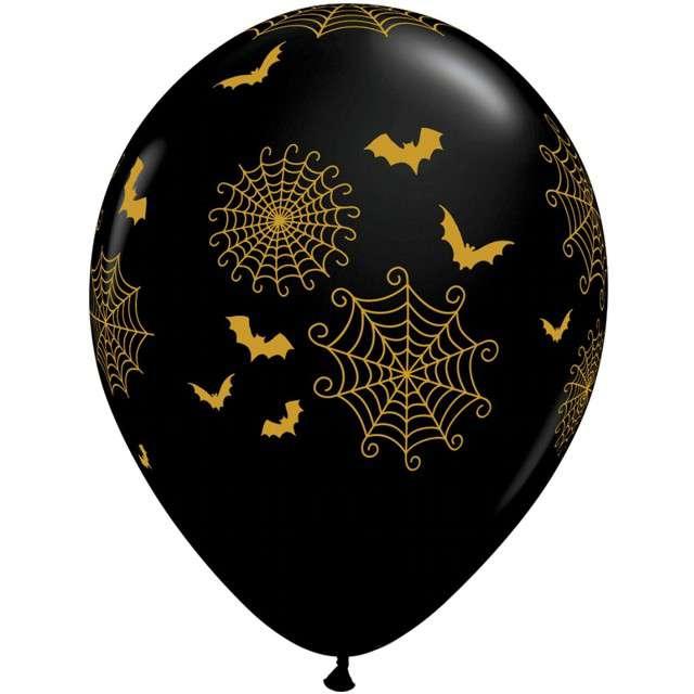 _xx_Balon 11 cali QL z nadr. Spider-Webs and Bats/ 25 szt.