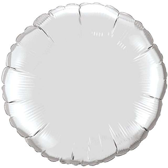 Balon foliowy Pełen Kolor srebrny Qualatex 18 ORB