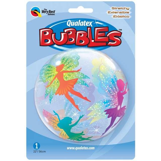 _xx_Balon foliowy 22 cali QL Bubble Poj.  Magiczne wróżki