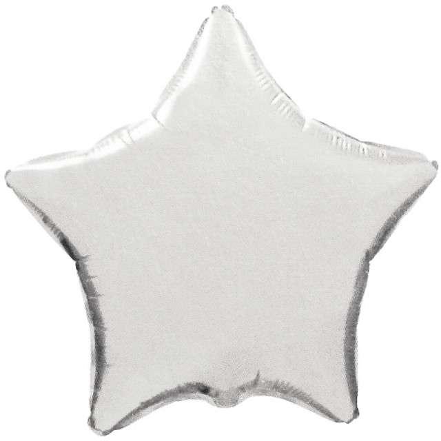 _xx_Balon foliowy 4 FX - Gwiazda (srebrne)