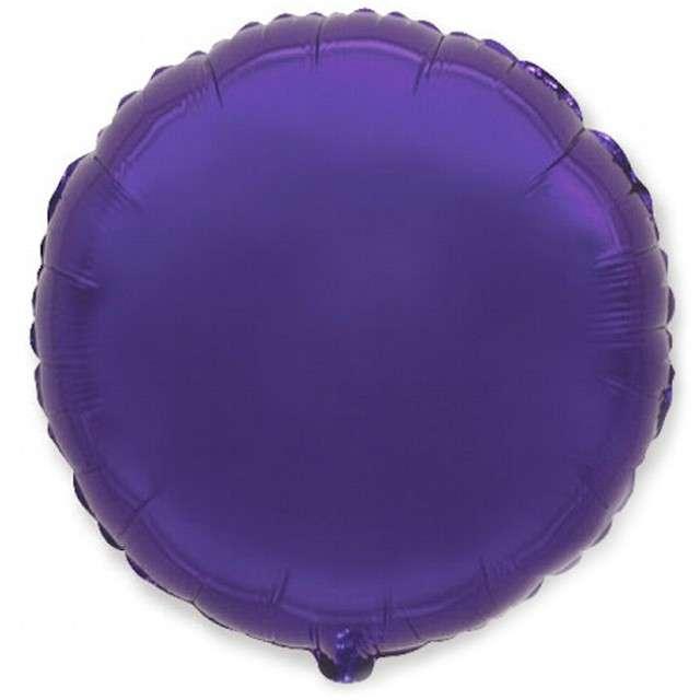 _xx_Balon foliowy 9 FX - Okrągły (fiolet)
