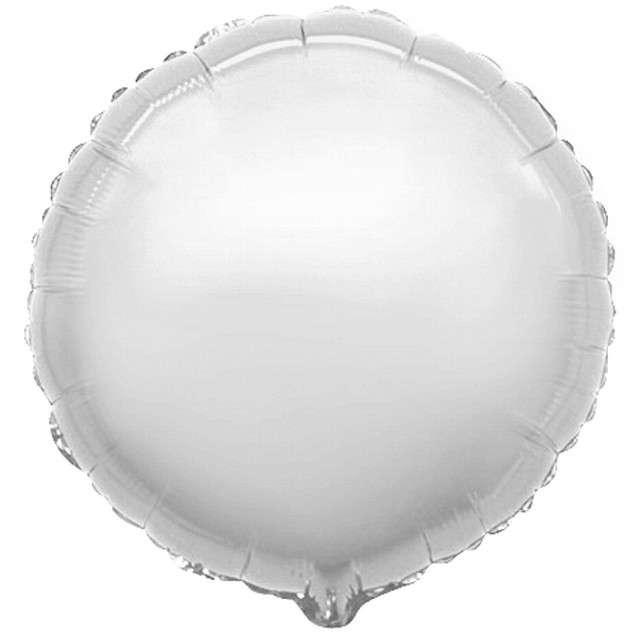_xx_Balon foliowy 9 FX - Okrągły (srebrny)