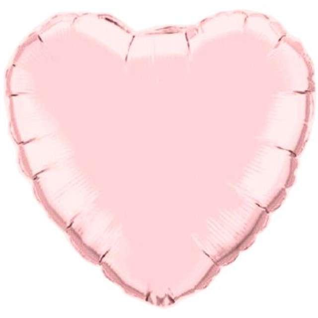 _xx_Balon foliowy 9 QL HRT Serce różowe